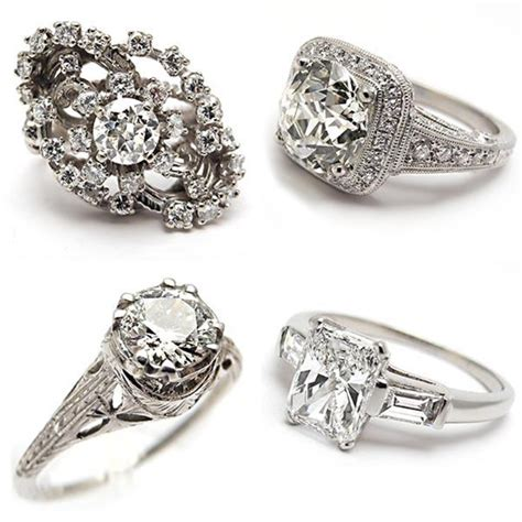 vintage engagement ring styles jewelry 50 unique vintage classic engagement rings