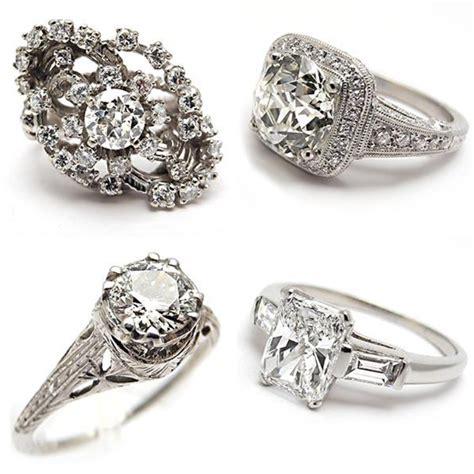 50 unique vintage classic engagement rings