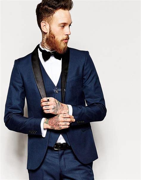 groom tuxedo men suit navy groomsman bridegroom