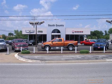 St Louis Jeep Dealers South County Dodge Chrysler Jeep Ram Louis Mo