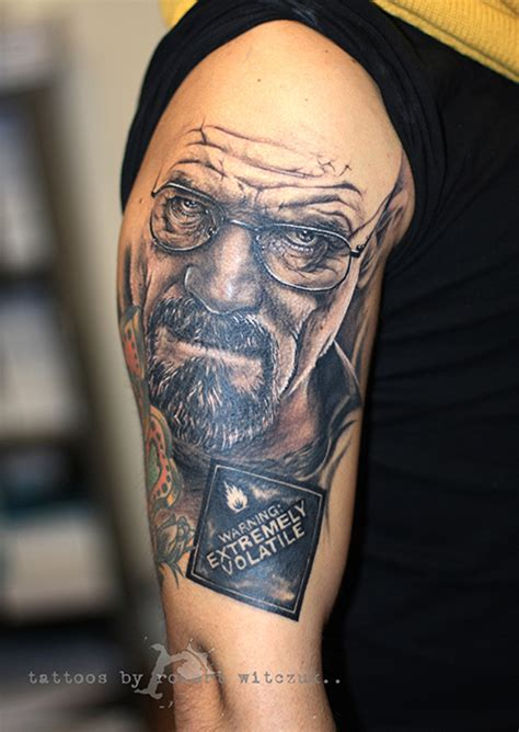 true detective tattoo breaking bad robert witczuk tattoos