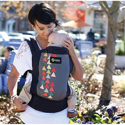 boba 4g baby carrier peak print huggle baby carriers