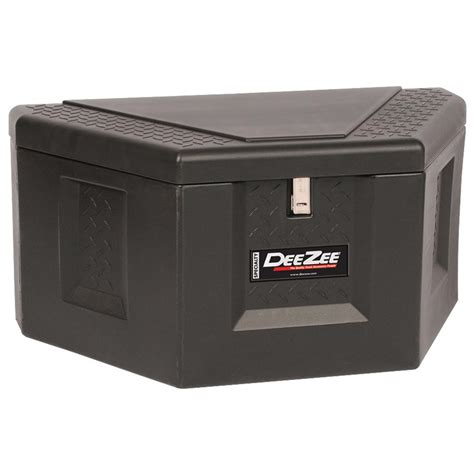 plastic truck tool box zee 174 plastic triangle storage box 180355 tool boxes at sportsman s guide