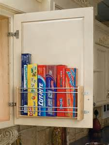 Cabinet Door Storage Ideas by Essential Space Saving Tips For The Kitchen