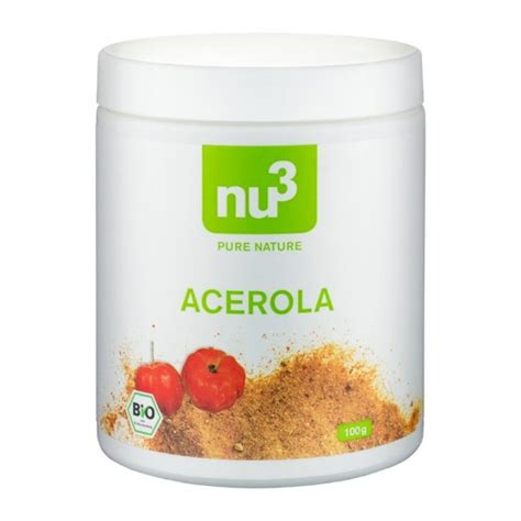Acerola Scrub nu3 organic acerola powder nu3
