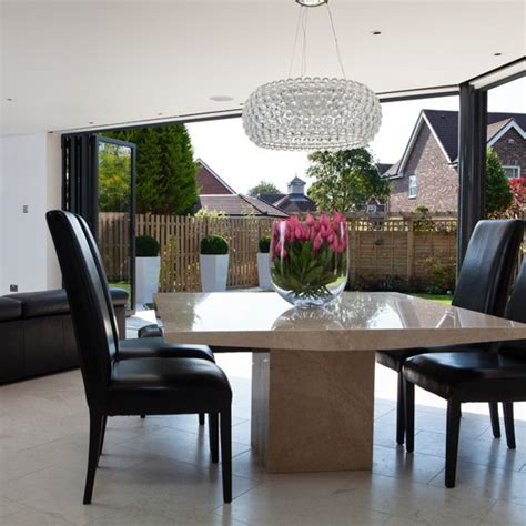 Kitchen Dining Room Extension Ideas Marble Dining Room Extension Housetohome Co Uk