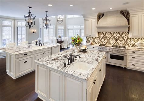 two island kitchens spacious kitchen designs with two islands