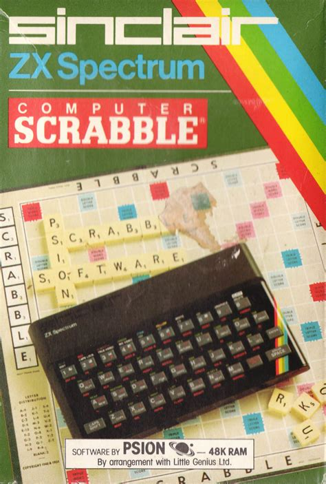 Computer Scrabble For Zx Spectrum 1983 Mobygames