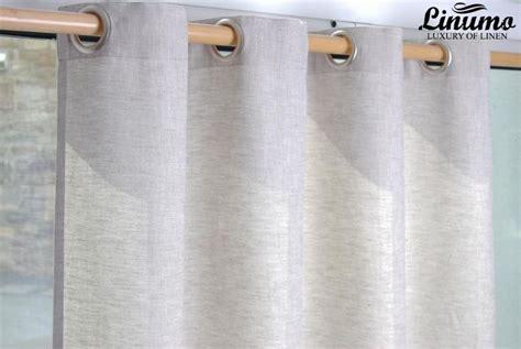 leinenvorhänge blickdicht fertiger leinen vorhang beige verschiedene gr 246 223 en m06c112