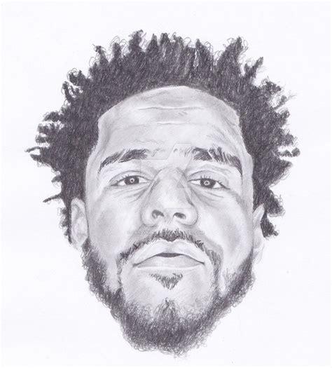 J Cole Sketches by J Cole By Crazyfingerz On Deviantart