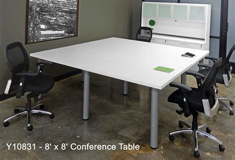 White Meeting Table White Conference Table White Conference Tables 8 Length See Other Sizes White Conference