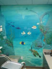 How To Paint Mural On Wall Underwater Theme Mural Jpg From Melissa Barrett Paint