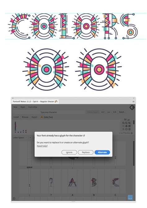 adobe illustrator pattern generator how to create a color font with adobe illustrator and