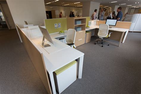 Teknion Expansion Desking by Neocon 2016 Teknion Showroom Tour Ispace Environments