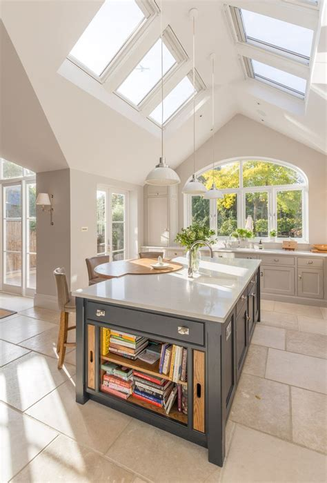 how high is a kitchen island 25 best ideas about vaulted ceiling kitchen on