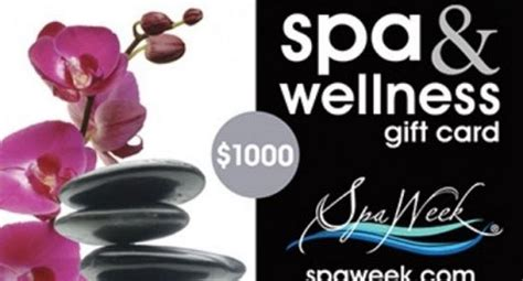 Wellness Gift Card - win a 1 000 spa wellness gift card whole mom