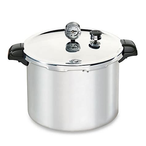 pressure cooker bed bath and beyond presto aluminum 16 quart pressure canner and cooker bed