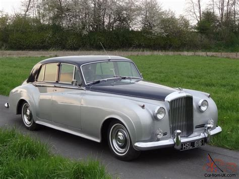 bentley rolls royce bentley s1 sports saloon 1958 shell grey blue pas not