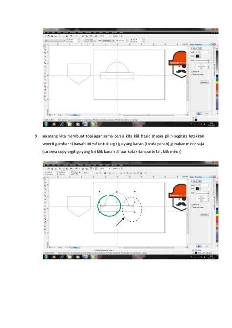 tutorial logo bbm corel draw tutorial logo kick denim corel draw