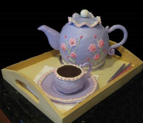 Alice In Wonderland Decorating Ideas Teacup Cake Frazi S Cakes