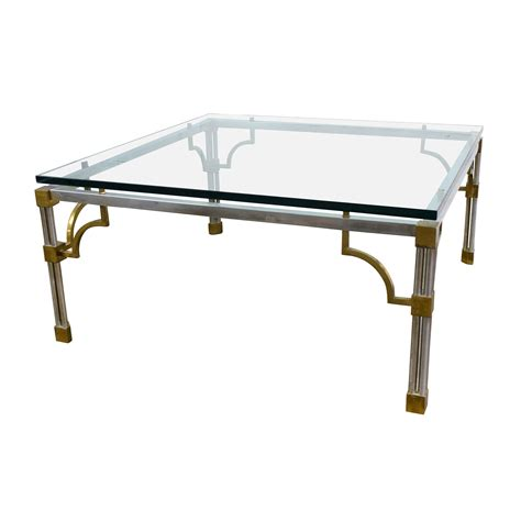 Antique Brass And Glass Coffee Table 90 Vintage Brass And Glass Coffee Table Tables