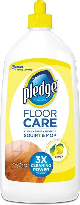 Pledge® Floor Care Hardwood Cleaner Squirt & Mop   Pledge®