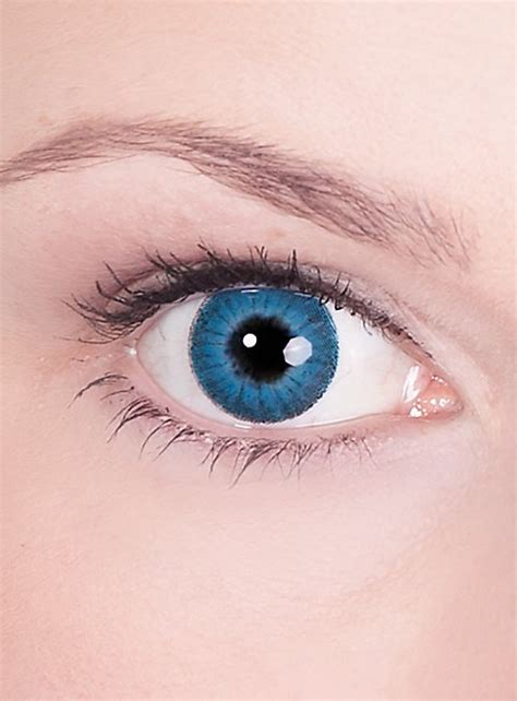prescription colored contacts prescription contact lens blue iris