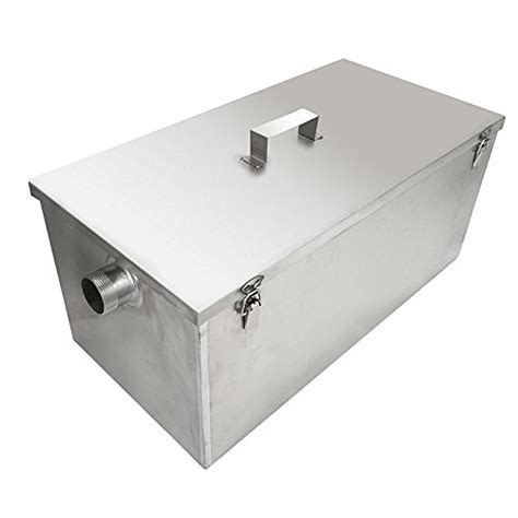 kitchen grease trap grease traps interceptors commercial beamnova 174 commercial 25lb 13gpm gallon per minute grease