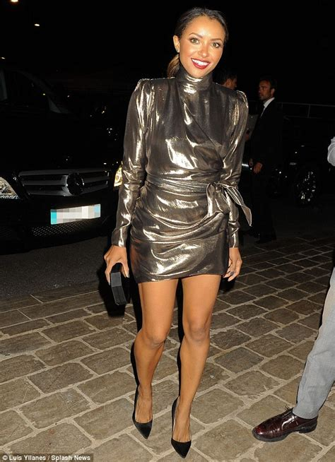 Termurah Mini Dress Dresskat graham in silver minidress as she hits cannes yacht daily mail