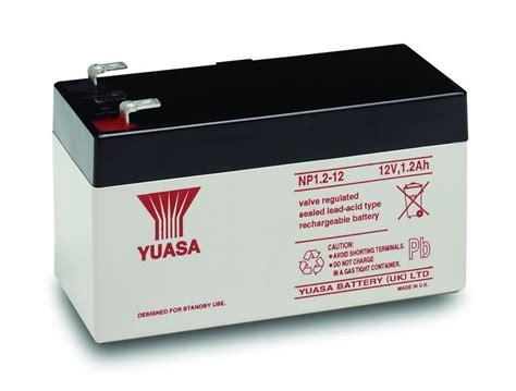 Baterai 12v 1 2ah np1 2 12 yuasa lead acid rechargeable battery 12v 1 2ah ebay