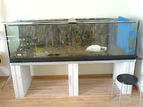 Aquariumschrank Selber Bauen by Aquarium Unterschrank Ytong Unterschrank Aus Ytong F 252