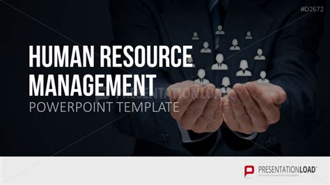 human resource management hrm powerpoint template hr