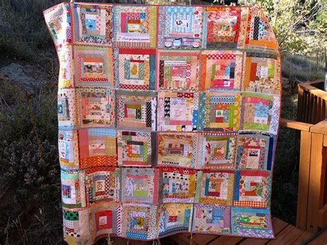 quilt as you go log cabin quilting