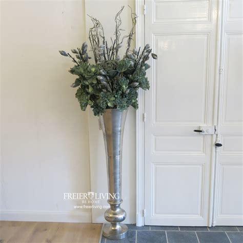 bodenvase deko bodenvase ca 135 cm gro 223 e aluminum vase gef 228 s impressionen