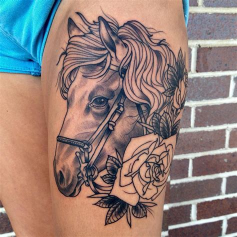 horse tattoo meaning 80 best designs meanings