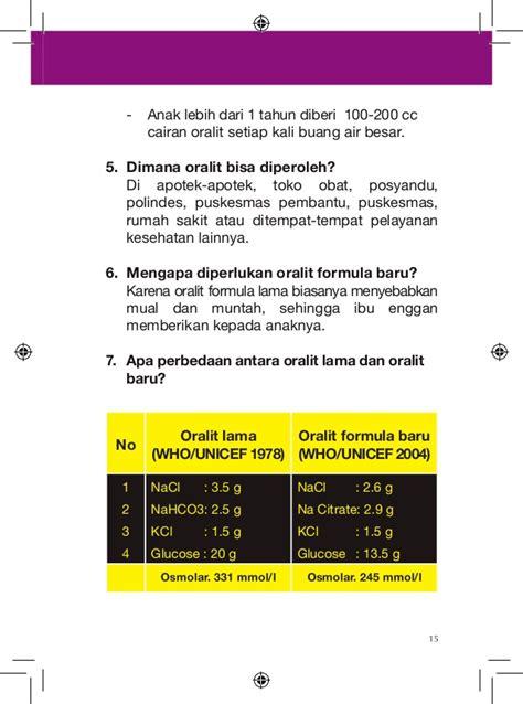 Obat Obat Penting Oop Cetakan Ke 6 Edisi 3 buku saku lintas diare edisi 2011
