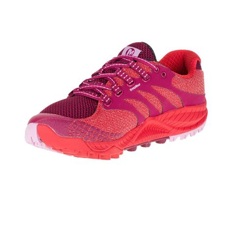 trainers merrell all out charge womens trail running shoes