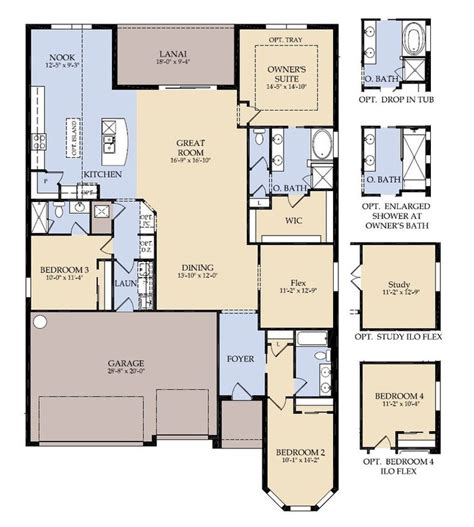 centex landon floor plan new home floor plans