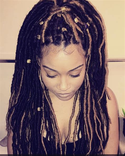 hoe to manage dread lock extensions the best faux locs tutorial faux dreads blonde