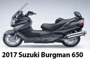 Scooter Suzuki Burgman 650 Executive Motorcycle Sport 2017 Suzuki Burgman 650 Abs New Features