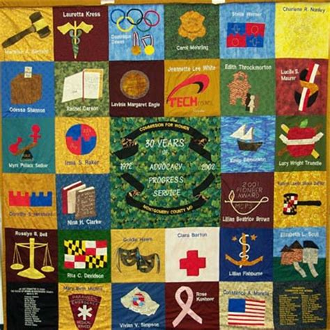 History Of Quilts by Commission For Montgomery County S History Quilt