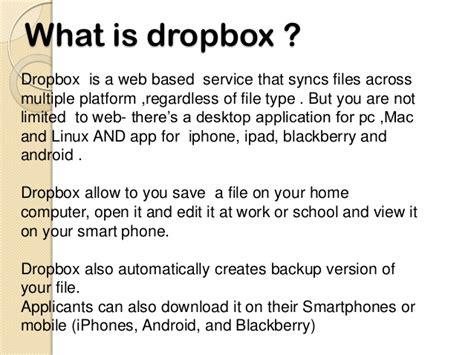 dropbox definition dropbox by ramanjeet lamba