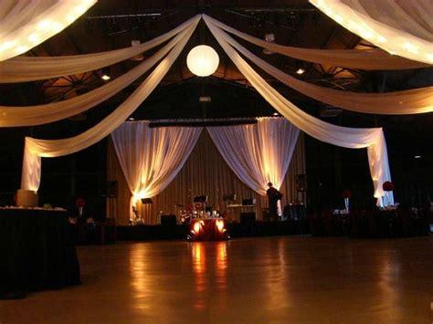 wedding venue draping ideas 25 best ideas about wedding reception lighting on