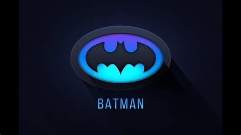 tutorial logo batman illustrator tutorial batman logo design youtube