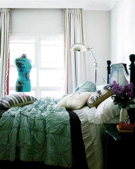 light turquoise bedroom textured bedding sets add flare and charm to bedroom