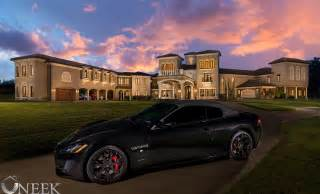 Multi Million Dollar Mega Mansion, maseratti, private