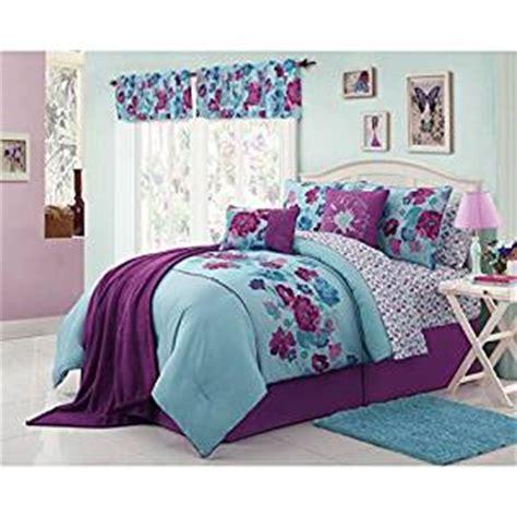 teen bed in a bag amazon com modern teen bedding beautiful girls kids full