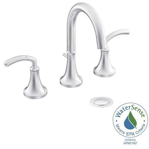 moen icon bathroom faucet moen voss 8 in widespread 2 handle high arc bathroom
