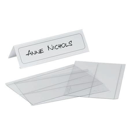 segnaposto tavolo portanome da tavolo durable 6 1 12 2x21 cm 8048 19