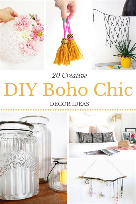 diy boho home decor diy boho chic home decor ideas for any budget she lives free
